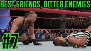 WWE 2K15 2K Showcase Best Friends, Bitter Enemies Part 7 - Steel Chair Problems