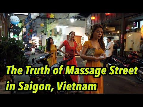 The Truth of Little Tokyo, Massage Street in Saigon(Hochiminh City), Vietnam