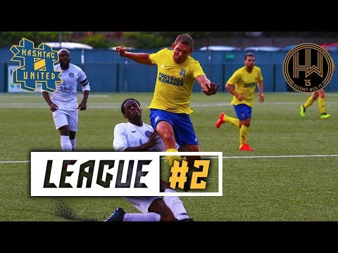 HASHTAG'S FIRST HOME LEAGUE GAME! - HASHTAG UNITED VS HACKNEY WICK
