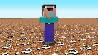КАК ВЫЖИТЬ НУБУ В МИРЕ ЛАКИ БЛОКОВ ИЗ ЗЕМЛИ В Майнкрафте! Minecraft Мультики Майнкрафт троллинг Нуба