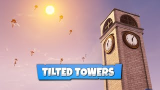 TILTED TOWERS | Fortnite Cinematic Pack #1 [1080p/600fps]
