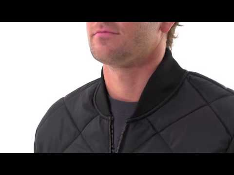 Dickies Mens Diamond Quilted Nylon Jacket Youtube