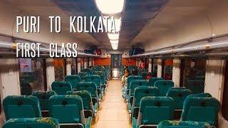 PURI to KOLKATA   Shatabadi Express   First Class