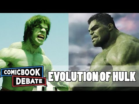 Thumbnail: Evolution of Hulk in Movies & TV in 7 Minutes (2017)