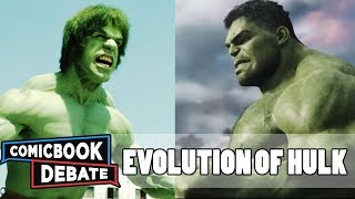 Evolution of Hulk in Movies & TV in 7 Minutes (2018)