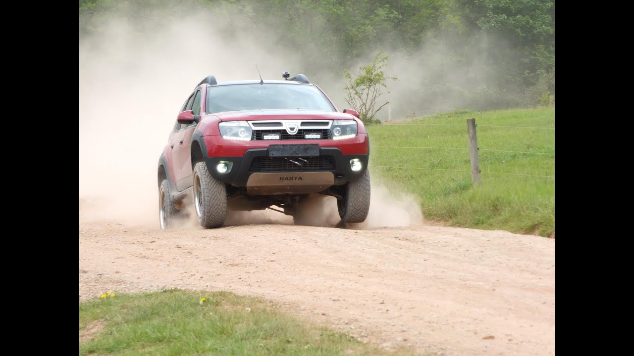 4x4 Off Road >> Dacia Duster Admirable 4x4 Offroad Test mit Bilstein B8 +10mm und Eibach Pro Lift Kit +25mm ...