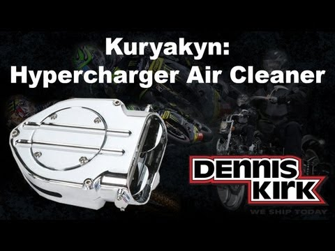Kuryakyn Late Style Hypercharger Air Cleaner