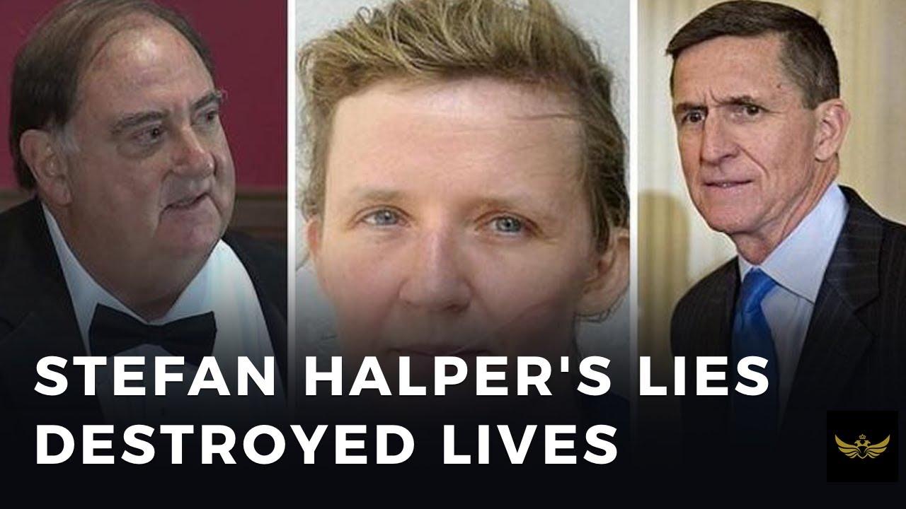 Deep state spy, Stefan Halper, a key player in the UK Russiagate hoax