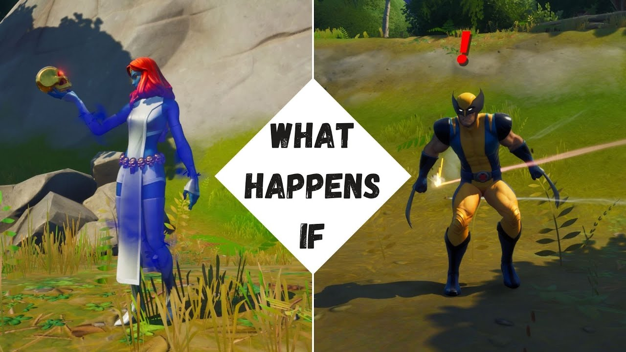 What Happens if You Eliminate Boss Wolverine as Mystique in Fortnite! - Shapeshifter Experiment