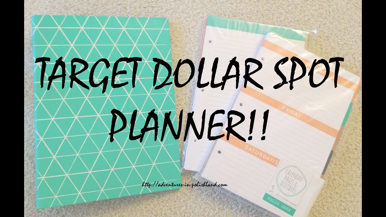 Target Dollar Spot Hello Desk Collection Planner Review Assembly Youtube