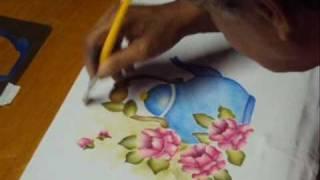 Pintura em tecido – Artesanato