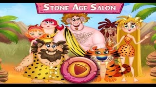 Best Mobile Kids Games - Cave Girl - Stone Age Salon - Tabtale