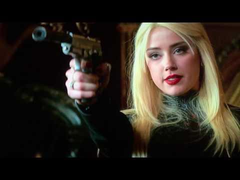 Ruthless blonde killer woman