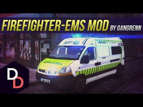 Firefighter/EMS Mod #7 - St. John Ambulance - GTA IV British