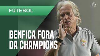 Benfica, de Jorge Jesus, perde do PAOK e está fora da Champions
