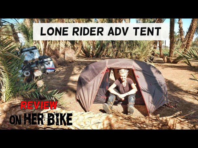 Motorcycle Tent – Lone Rider ADV Tent Review