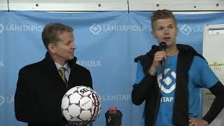 Lehdistötilaisuus: KuPS - FC Lahti