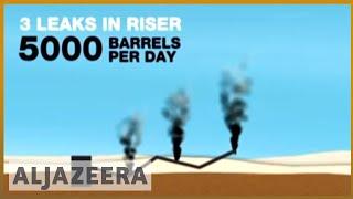 US oil spill explained