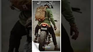 I am a rider whatsapp status Rock Star Channel