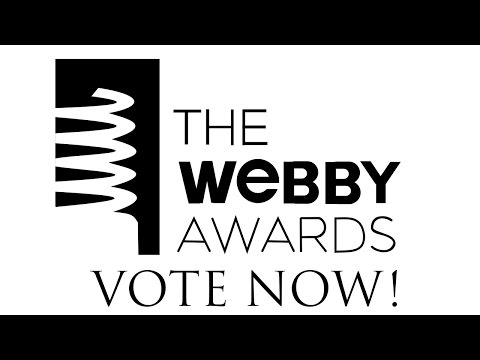 Help Us Win A Webby Award!