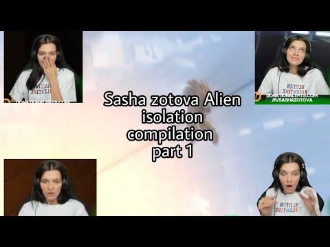 sasha zotova alien isolation compilation part 1 |