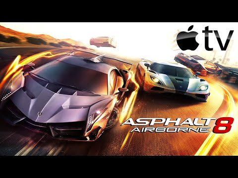 Asphalt 8: Airborne (by Gameloft) - Apple TV - HD Gameplay Trailer (tvOS)