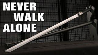 Black Traveler Wood Handle Sword Cane - $19.99