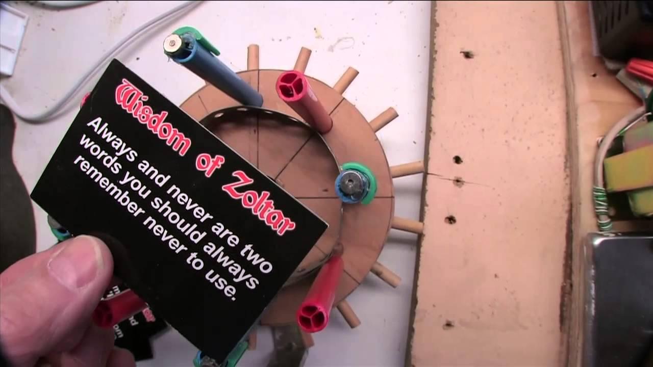 Zoltar Fortune Card Dispenser - DIY - YouTube