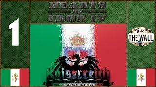 Italia Nova - Hearts of Iron 4 Kaiserreich Mod [Gameplay ITA #1]