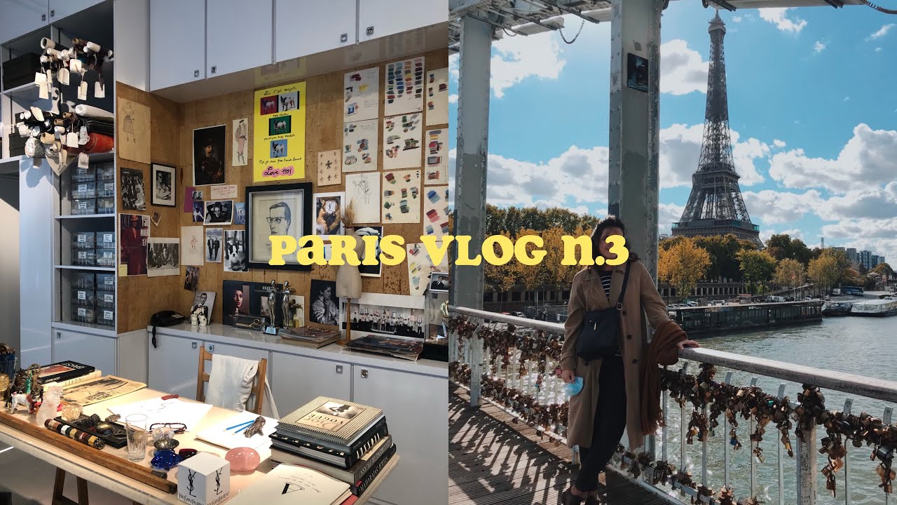 paris vlog n.3: musée Yves Saint Laurent, weekend chill