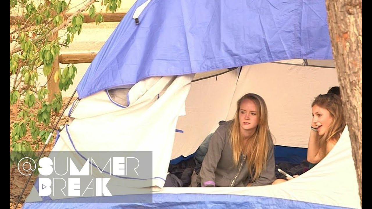 The Guys Pitch a Tent | Season 1 Episode 14 @SummerBreak ...