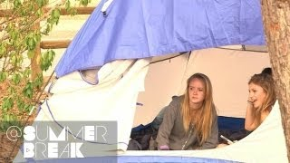 The Guys Pitch a Tent | Season 1 Episode 14 @SummerBreak