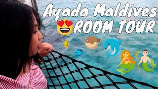 AYADA MALDIVES (Ocean Villa with Pool Room Tour)