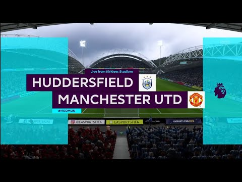 FIFA 18 | Premier League | Huddersfield v Manchester Utd | Kirklees Stadium