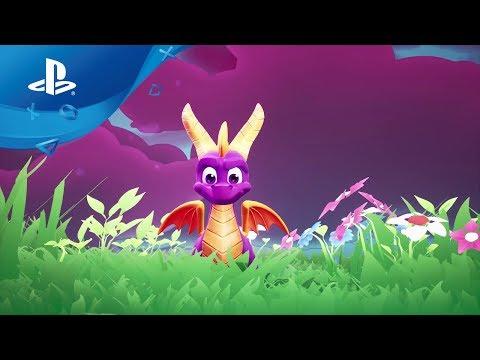 Spyro Reignited Trilogy | Ankündigungs-Trailer [PS4, deutsch]