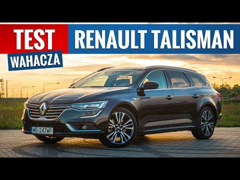 Renault Talisman Kombi 2020 - TEST PL (1.8 TCe 225 KM Initiale Paris)
