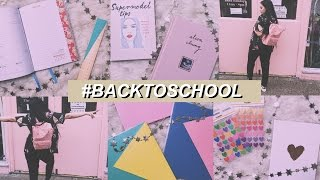 COSA C'È NEL MIO ZAINO: HAUL BACK TO SCHOOL | cleotoms