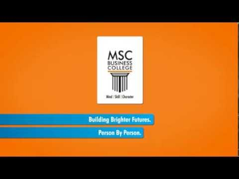 Why MSC Business College