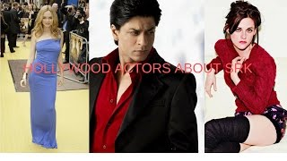 Hollywood Stars About SRK