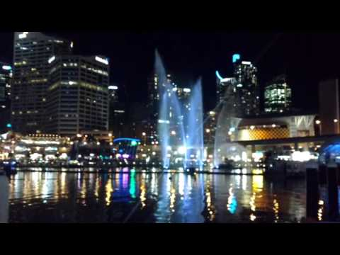 Vivid sydney 2016 - Darling Harbour light and music show