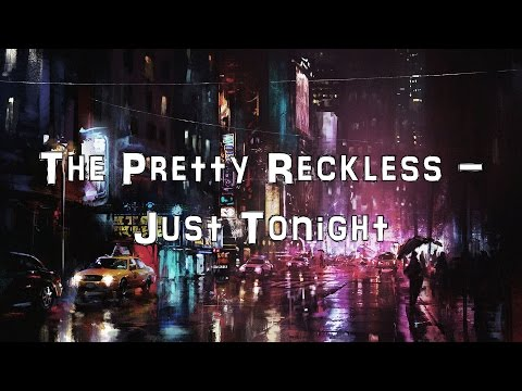 The Pretty Reckless - Just Tonight [Acoustic Cover.Lyrics.Karaoke]
