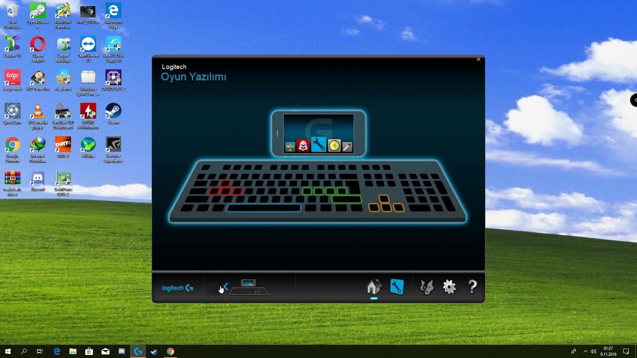 logitech discord led disable