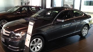 Mercedes-Benz C Class Coupe 2014 In depth review Interior Exterior