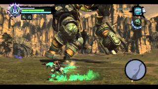 Darksiders 2 Playthrough Part 10: The Guardian Boss-Battle (PC) 720p HD