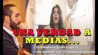VENEZOLANA RESPONSABILIZA a Nayib Bukele de lo que le pase a ella y sus niñas