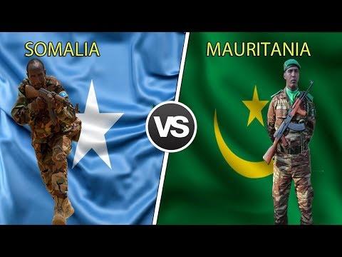 SOMALIA vs MAURITANIA Military Power Comaparison 2019