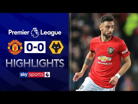 Bruno Fernandes makes his Man United debut! | Manchester United 0-0 Wolves | EPL Highlights