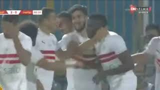 أهداف مباراة الزمالك وبيراميدز 2_ 0 الدوري المصري