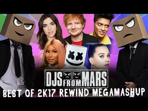 Djs From Mars -  Best Of 2017 Rewind Megamashup - 40 tracks in 5 minutes