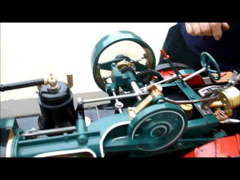 1 Inch scale 80hp CASE traction engine